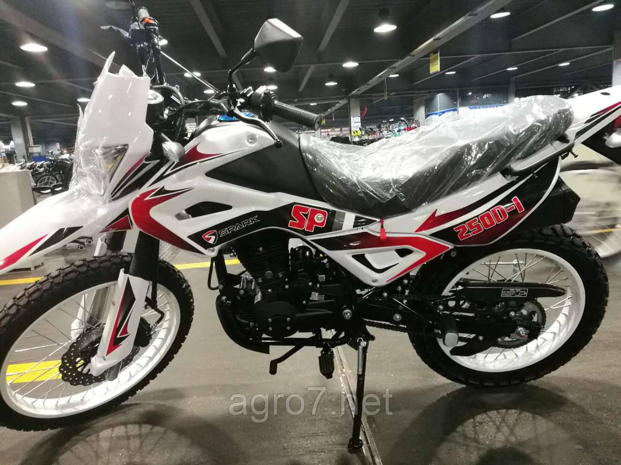 Кроссовый мотоцикл с доставкой SPARK SP250D-1