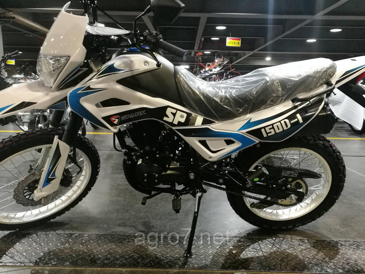 Кроссовый мотоцикл с доставкой SPARK SP150D-1, фото 1