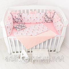 Комплект постельного белья Asik с цифровой печатью Балерины с цветами (5-335)