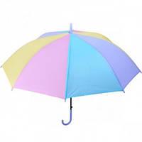 Зонтик - трость детский, разноцветный
