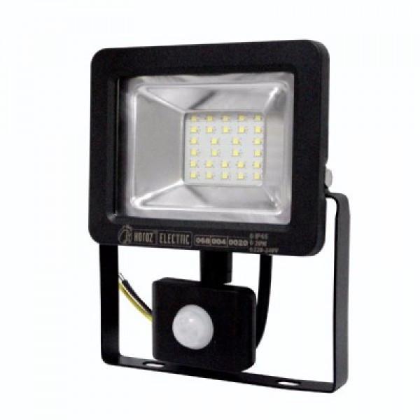 """Прожектор светодиодный с датчиком """"PUMA/S-20"""" 20W 6400K"""
