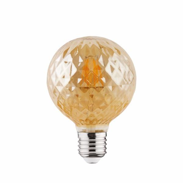 """Лампа винтажная светодиодная (ретро) """"RUSTIC TWIST-4"""" 4W Filament led 2200К  E27"""