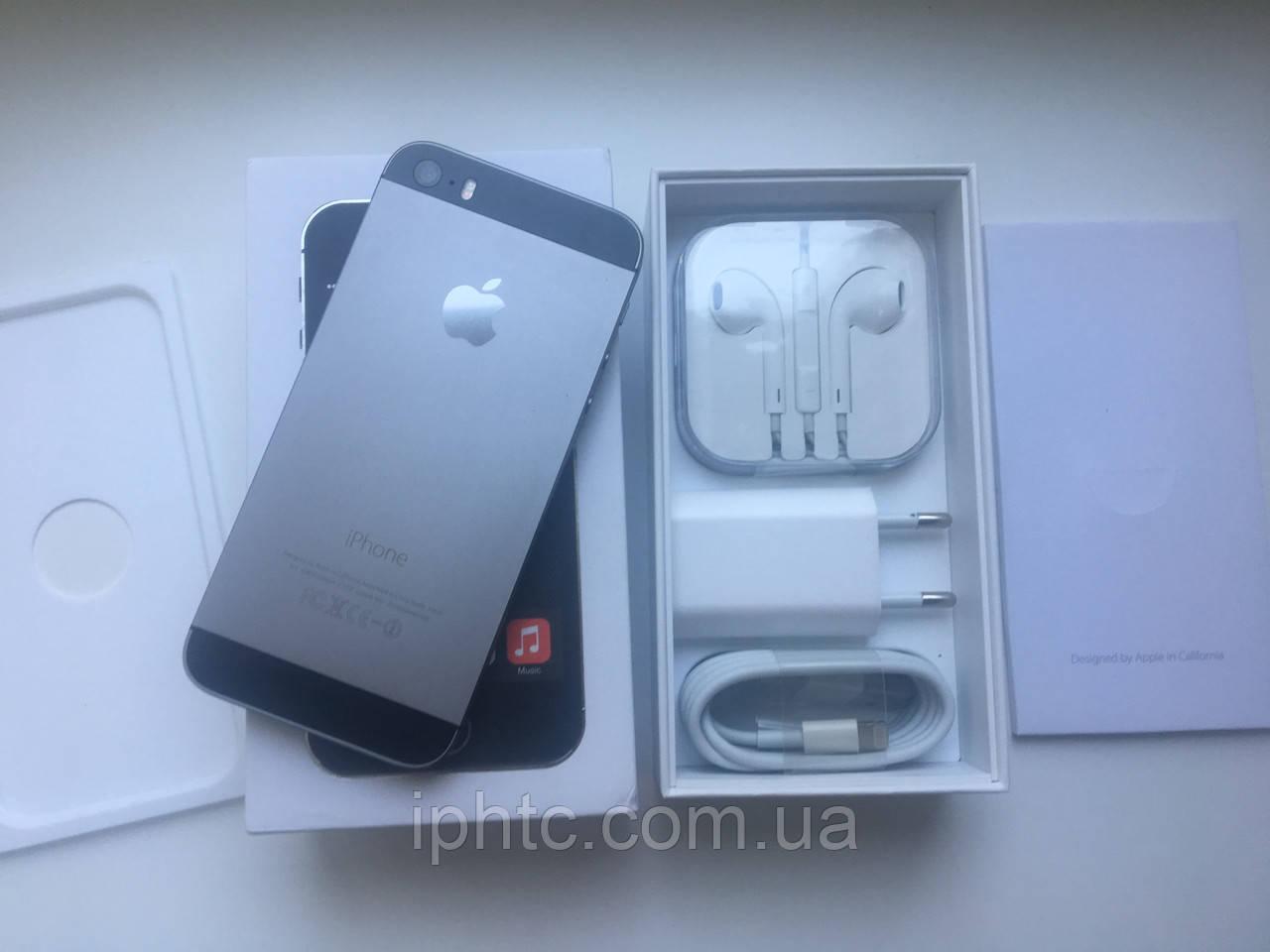 Apple iPhone 5S 16GB Space Grey. Как новый