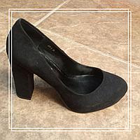 Женские туфли Lino Marano  LC6-6 черная замша стрип, 35,39