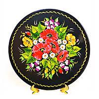 Дерев'яна тарілка українського виробника