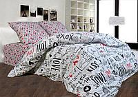 Комплект двуспальной постели бязь голд Валентинка