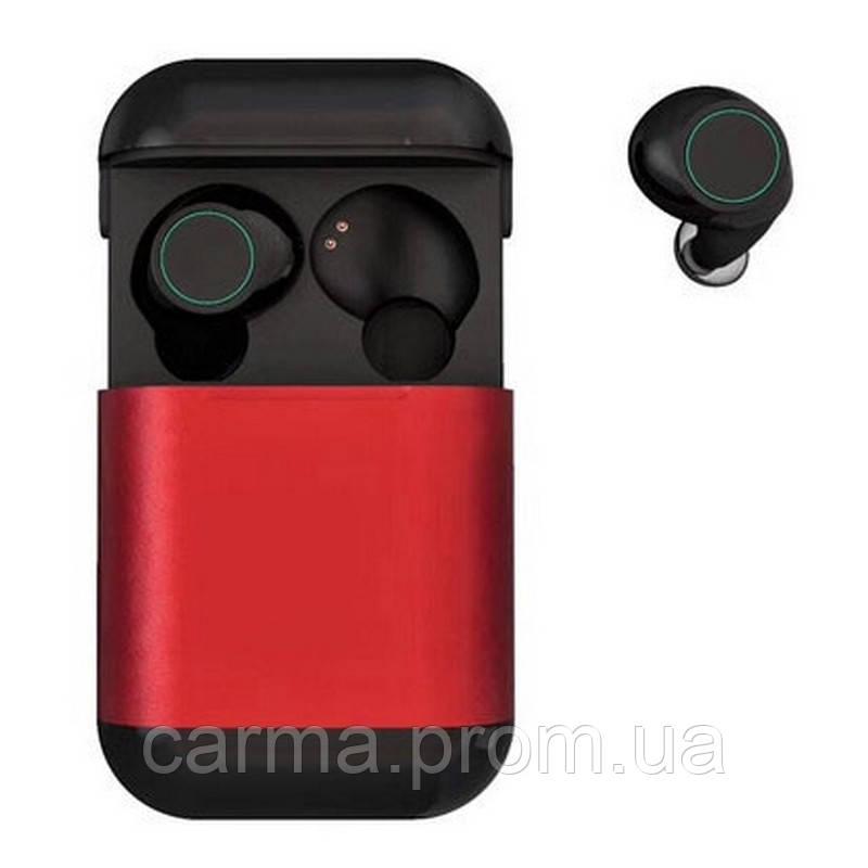 Беспроводные Bluetooth наушники SVN Headset TWS S7 4.2 Red, фото 1