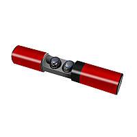 Беспроводные Bluetooth наушники SVN Headset TWS S2 4.2 Red, фото 1