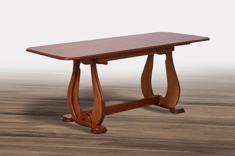 Стол обеденный Микс Мебель Агат 1300(+550)*790