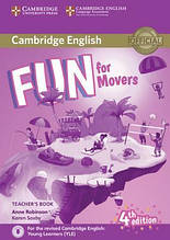Fun for 4th Edition Movers Teacher's Book with Downloadable Audio