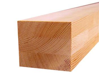 Клееный брус Лиственница  100х100 монтажный брус