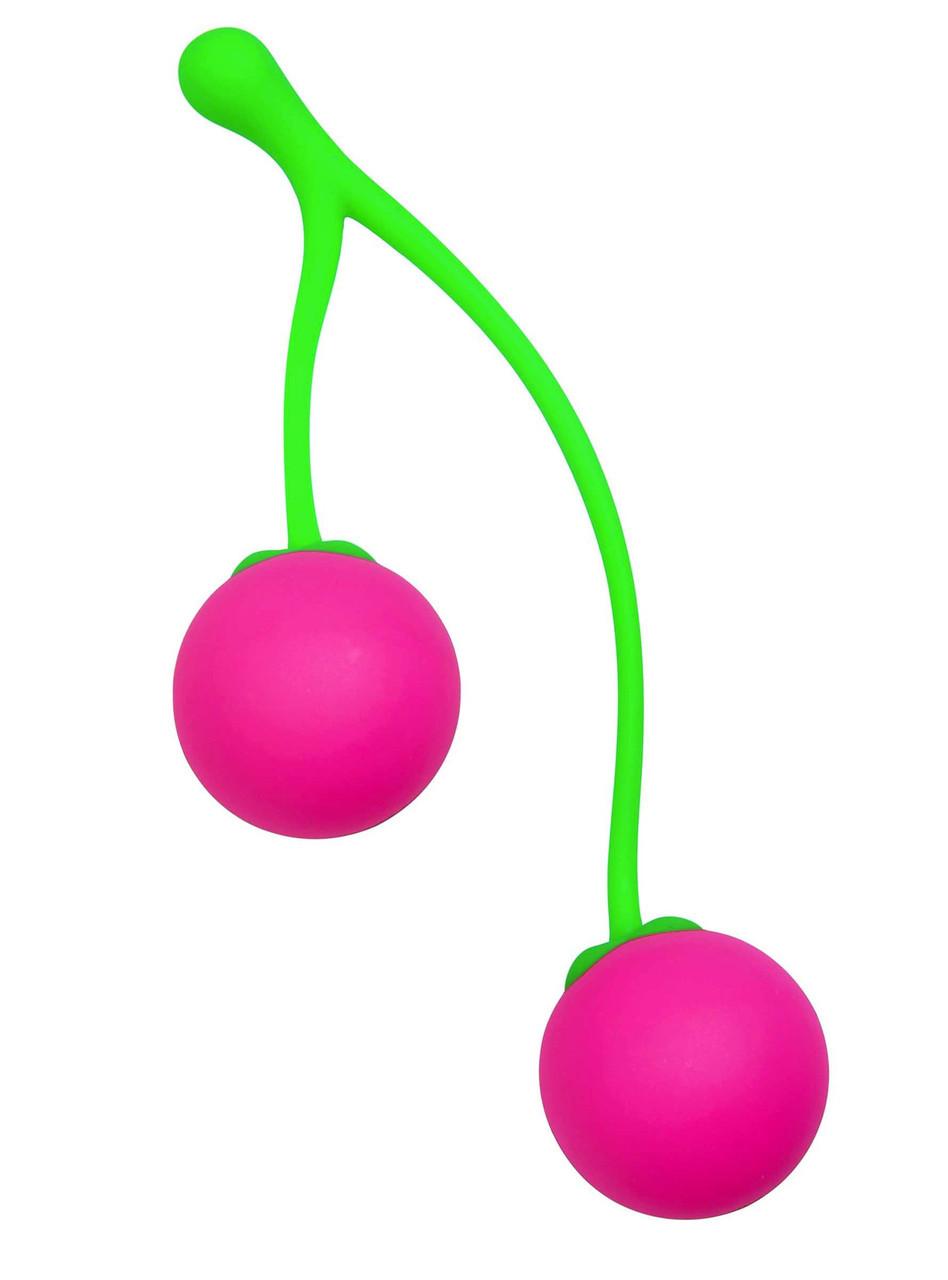 "Ben Wa Balls Cherry - вагинальные шарики ""Вишенки"""