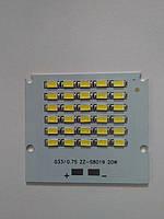 Светодиодная LED матрица SMD для прожектора 20 W S8019