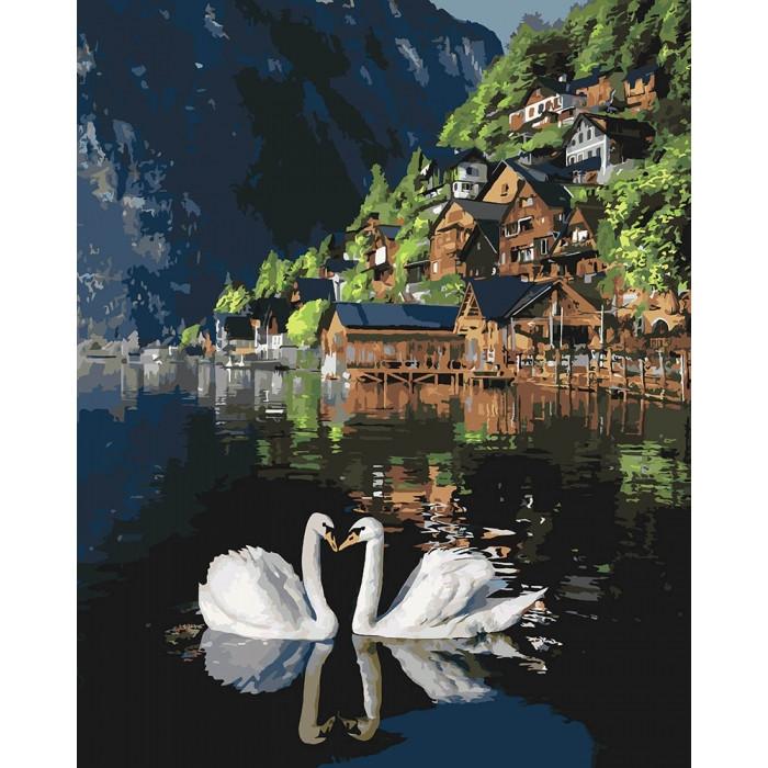 Картина по номерам Романтическая Австрия KHO4134 Идейка 40 х 50 см (без коробки)