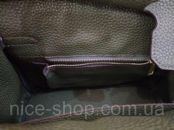 Сумка Эрмес Биркин 25 см, оливковая, фото 2