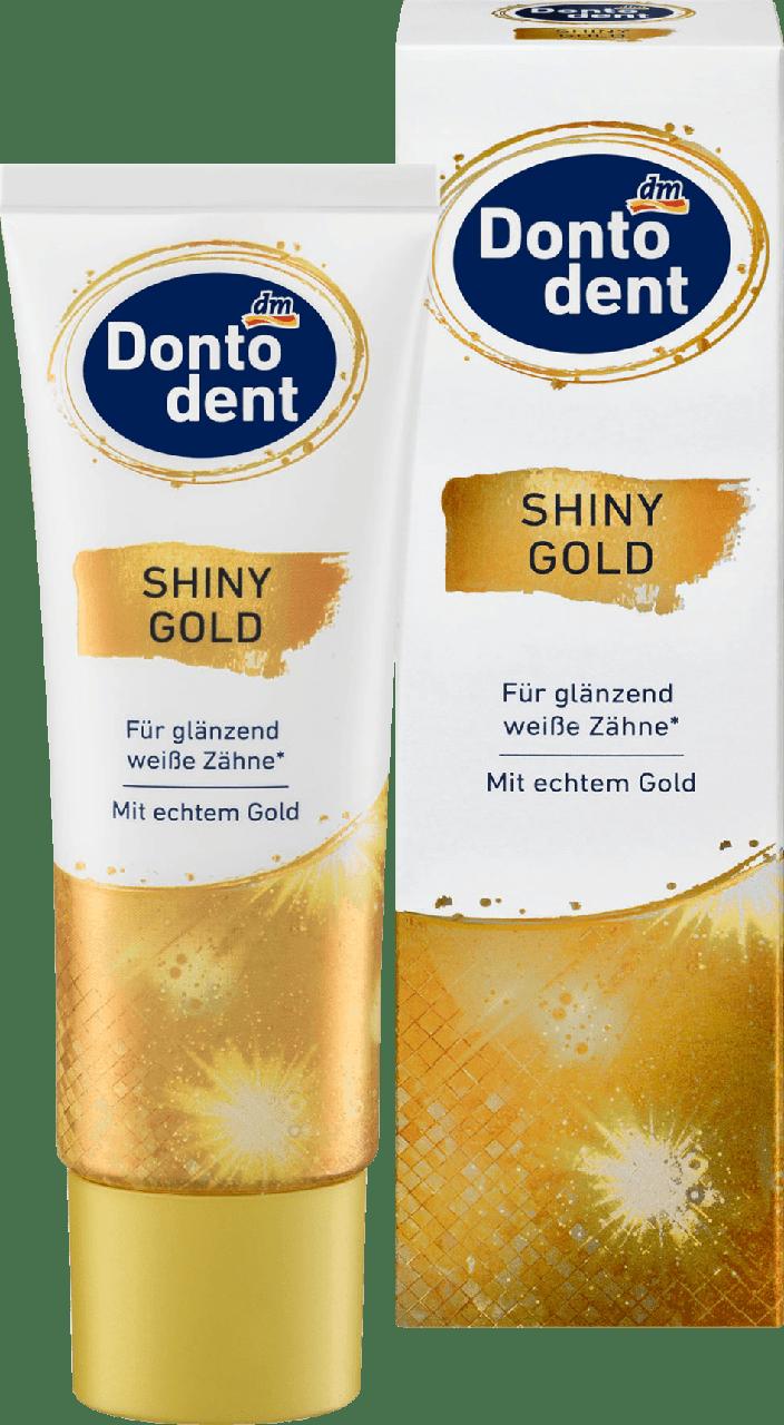 Зубная паста Dontodent Shiny Gold, 75 ml