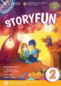 Storyfun Second Edition 2 (Starters) Student's Book with Online Activities and Home Fun Booklet