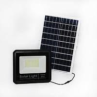 Светодиодный прожектор 100W на солнечной панели с пультом, фото 1