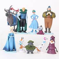 Фигурки героев мультфильма Холодное сердце10 штук