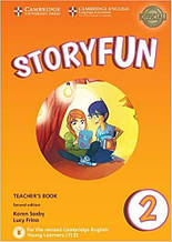 Storyfun Second Edition 2 (Starters) Teacher's Book with Downloadable Audio