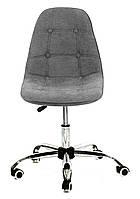 Кресло мастера Alex Шенилл, темно-серый