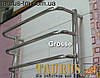 Самый маленький полотенцесушитель Grosse 4-2 / 450х400мм из нержавеющей стали для небольшой ванной комнаты, фото 3