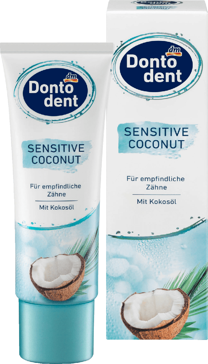 Зубная паста Dontodent Sensitive Coconut, 75 ml