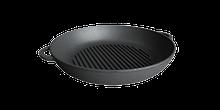 Сковорода гриль чавунні, d=260мм, h=40мм
