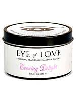 Массажная свеча с феромонами Eye of Love Evening Delight Massage Candle