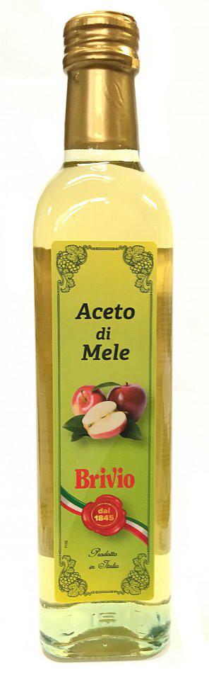 Оцет Brivio яблучний 0.5л, 12шт/ящ