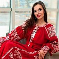 Платья женские с вышивкой
