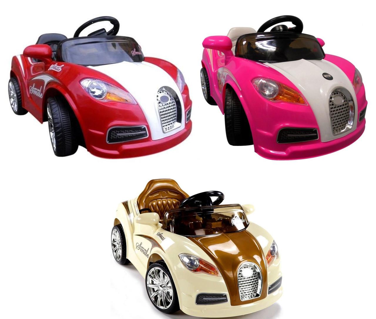 Детский электромобиль Cabrio BU
