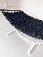 Гамак ohaina ручной работы с мягкими косами цвет черный, фото 1