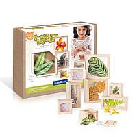 Набор блоков Natural Play Сокровища в ящиках, прозрачный Guidecraft (G3084)