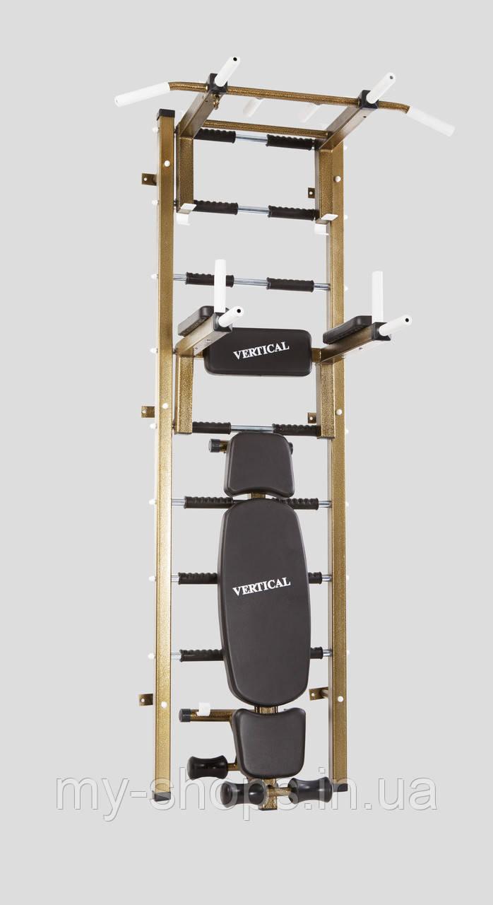 "Шведская стенка премиум класса ""Vertical Boss Creative"""