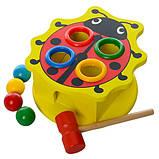 Деревянная игрушка стучалка MD 0045, фото 2