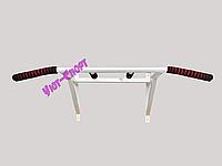 Турник усилиный (Олимпик)+параллельный хват-сварная конструкция (белый), фото 1