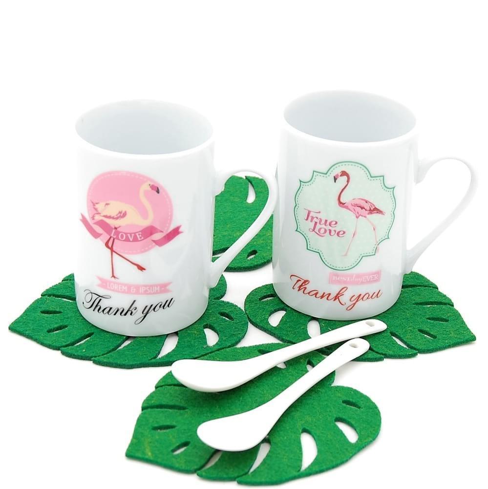 Набор чашек BoxShop Фламинго 350 мл (C-4229)