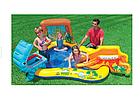 НАДУВНЫЕ ДЕТСКИЕ ЗЕМЛИ ДИНОЗАВРЫ + ШАРЫ Intos Inflatable Playground Intex , фото 2