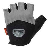 Перчатки для тяжелой атлетики Power System FP-06 L Grey, фото 1