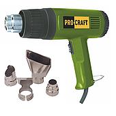 Технический фен ProCraft PH-2100 (4 насадки)