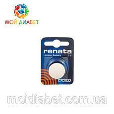 Батарейка Renata CR2032 3V для глюкометрів