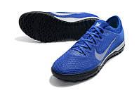Футбольные сороконожки Nike Mercurial Vapor XII Pro Neymar TF Racer Blue/Metallic Silver/Black
