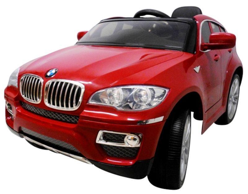 Детский электромобиль BMW X6 с мягкими колесами (EVA-колеса)