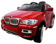 Детский электромобиль BMW X6 с мягкими колесами (EVA-колеса), фото 1