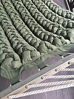 Гамак ohaina ручной работы с мягкими косами цвет оливковый, фото 1