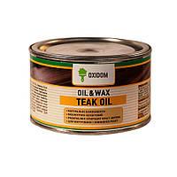 Oxidom Teak Oil - Тиковое масло для древесины (бесцветное) 0,5 л