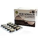 Аюр Нормалив (Holistic Herbalist) - естественная поддержка печени, 60 таблеток, фото 5