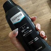 Гель для душа+шампунь  для мужчин Farmasi Men 400 мл.Farmasi.