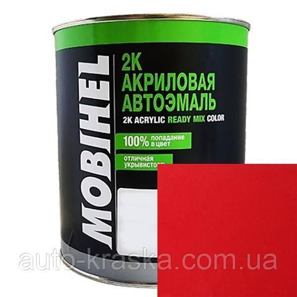 Автокраска (автоэмаль) Mobihel акрил 0,1л 110 Рубин.